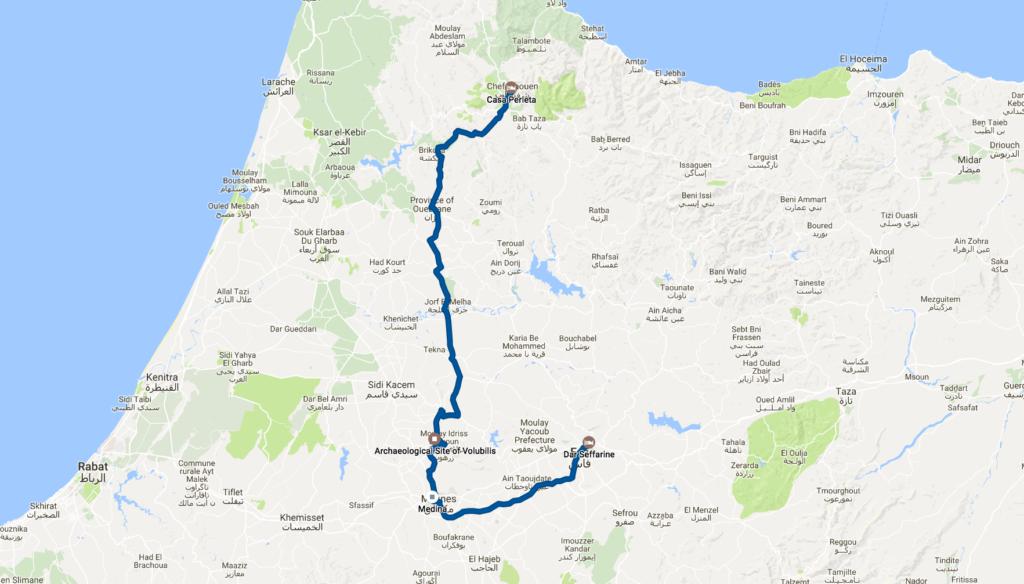 Google Timeline Morocco Day 4